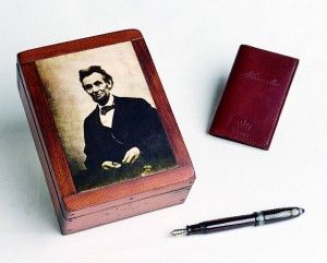 pen box and book